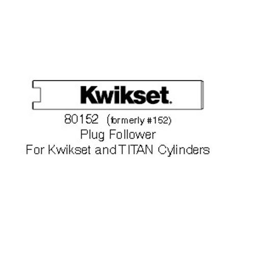 Kwikset 80152-001 Tool, Follower #152