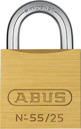 Abus 55/25 Brass Body Padlock, Keyed Alike 5252