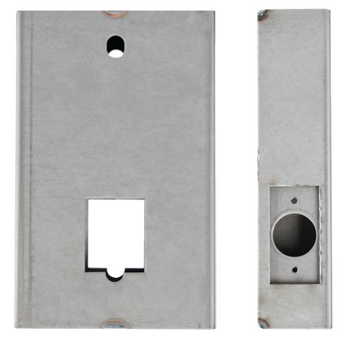 Weldable Steel Non-Handed Gate Box 12GA.
