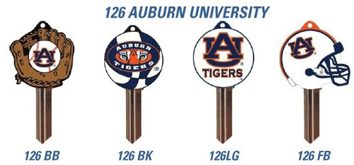 Key blank, Auburn Logo, SC1