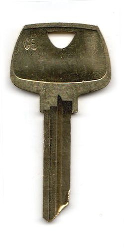 Key blank, Sargent 6278CE, OEM CE 6-pin