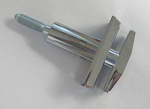 T-Handle, 360 Deg. Threaded Pin