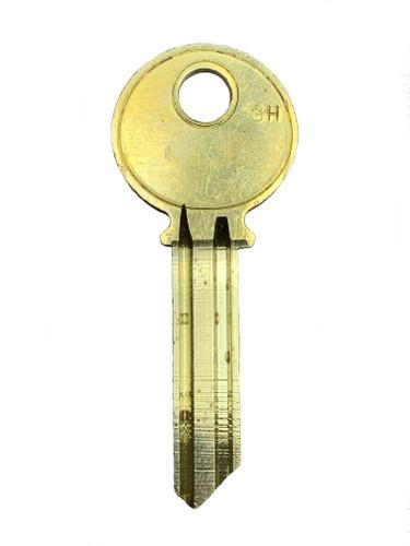 Key blank, Yale RN11GH 6 Pin