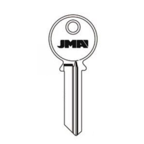 Key blank, JMA YA-91D for Yale GD 6pin 998GD