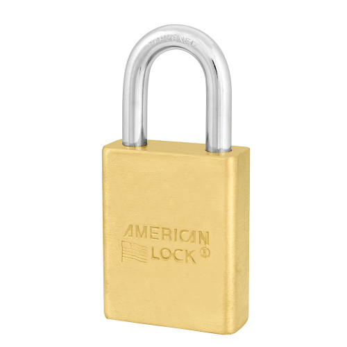 American Lock A3600D045 Brass Padlock, SCH SC1/SC4, Zero Bitted