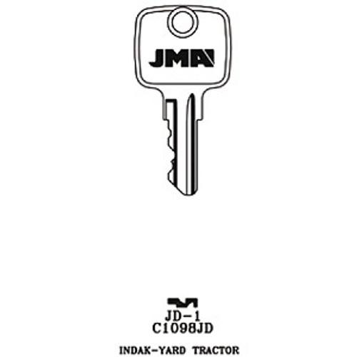 Key blank, JMA JD1 for John Deere C1098JD