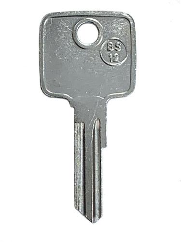 Key blank, JMA BS12 for Briggs/Strattec 1595