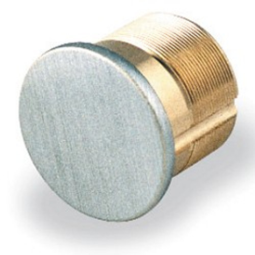 "GMS M118D Dummy Mortise Cylinder, 1-1/8"" Satin Chrome/26D"
