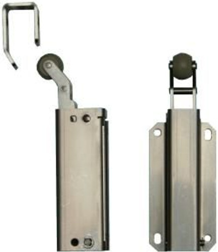 Door Check, #160 Junior (Stainless) 32D, Push Type 392000, 13N