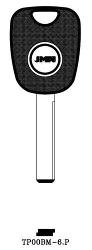 Key blank, JMA TP00BM6P for BMW (RH) without Transponder