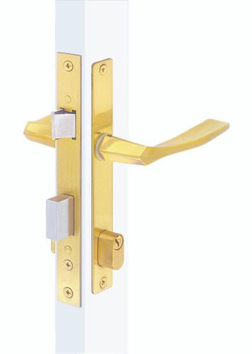 Papaiz MZ33 Mortise Lock Complete US3, Double Cylinder