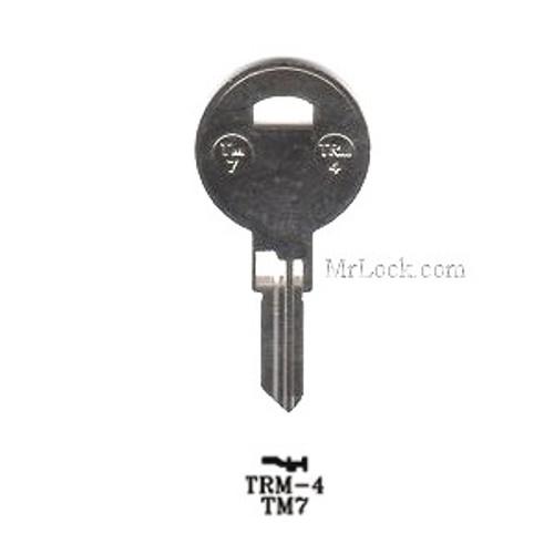 Key blank, JMA TRM4 for Trimark 1607/TM7