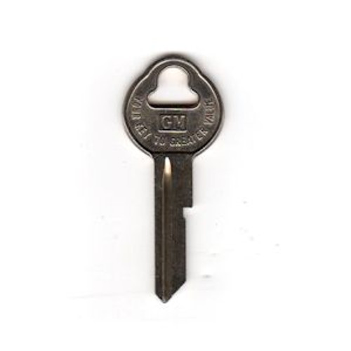 Key blank, GM OEM Old Style Secondary