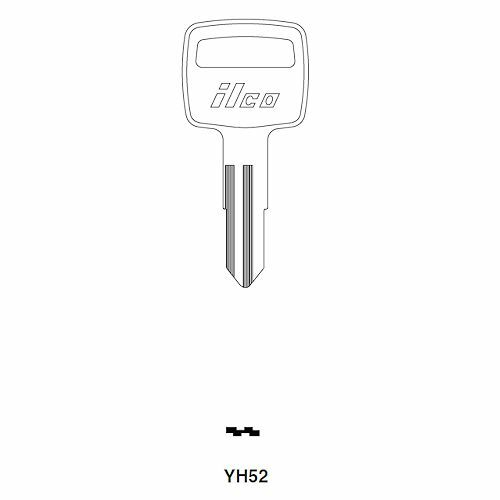 Ilco YH52 Key blank, Yamaha