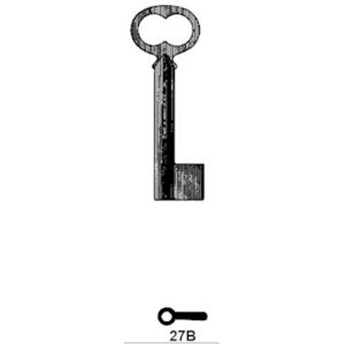 Ilco 27B Key Blank, Bit & Post Antique Style