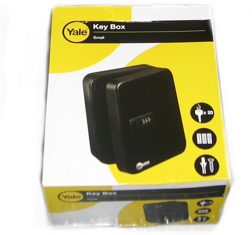 Yale Key Box Small - Combination Lock 20 Hooks