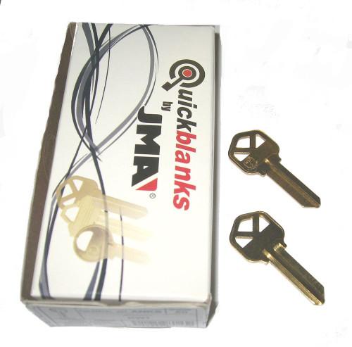 Key blank, JMA KWI1KE-50 for Kwikset KW1, Box of 50