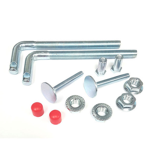 Exit Security Bar Bolt Kit, Single Door