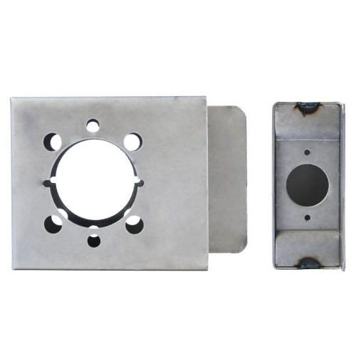 Gate Box, Weldable For Levers, Keedex K-BXRHO