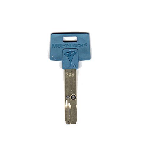 Mul-T-Lock 236S-KEYBLU Key blank, Standard Interactive