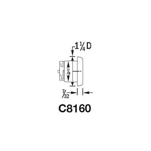 CompX National Drawer Lock, C8160 26D