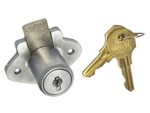 "Cabinet Lock, CCL 02066 7/8"" US26D CAT30 (00164)"
