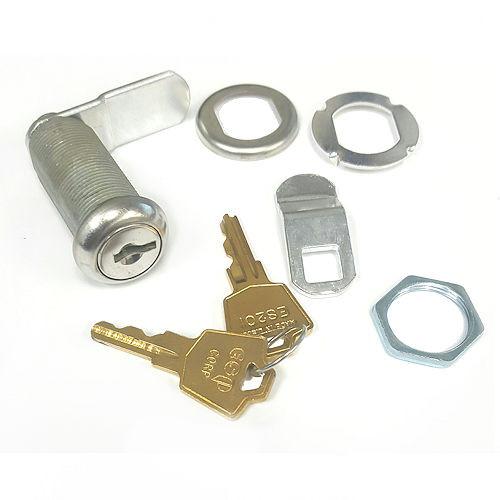 "Cam Lock, ESP V437C8055621 ES201, 1-7/16"" KA 201 Nickel"