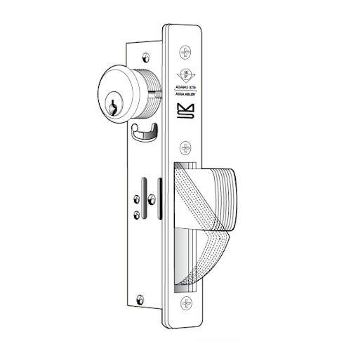 Adams RIte MS1850S-310-618, 1-1/8 Backset Deadbolt