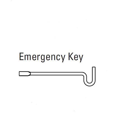 Kwikset Emergency Key, 81087-001