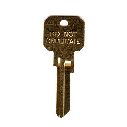 Key blank, Ilco DND-KW1, NB KW1 DND