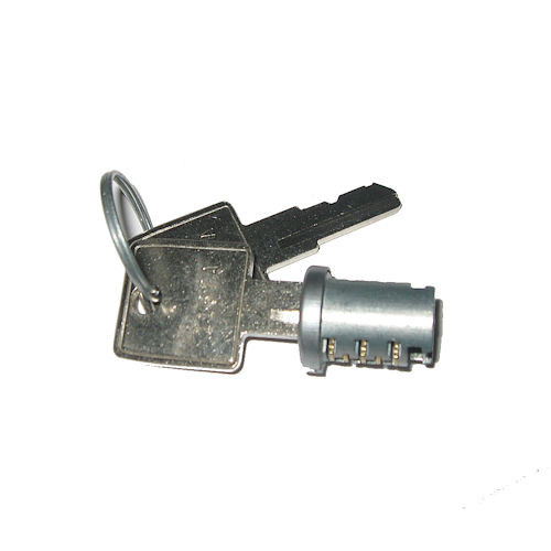 Wesko 103TA Satin Plug with 2 keys, KA for Timberline