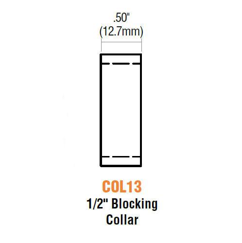 "Blocking Collar, GMS COL13-26D, 1/2"""