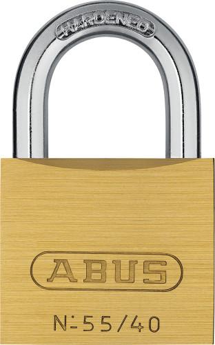 Abus 55/40 KD Brass Body Padlock, Keyed Different
