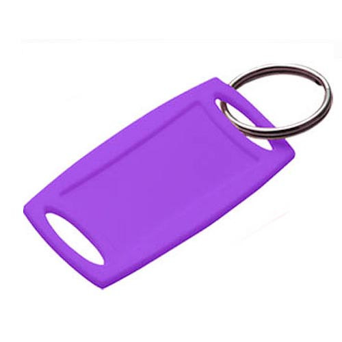 Rectangular Key Tags #17065 Lilac (bulk)