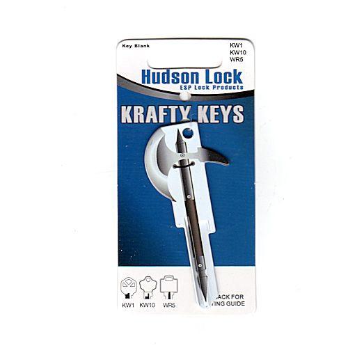 Krafty Key blank, AXE - KW1/KW10/WR5