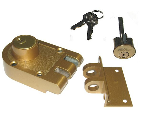 Ilco 535-53-41 Jimmy Proof Double Cylinder Deadbolt