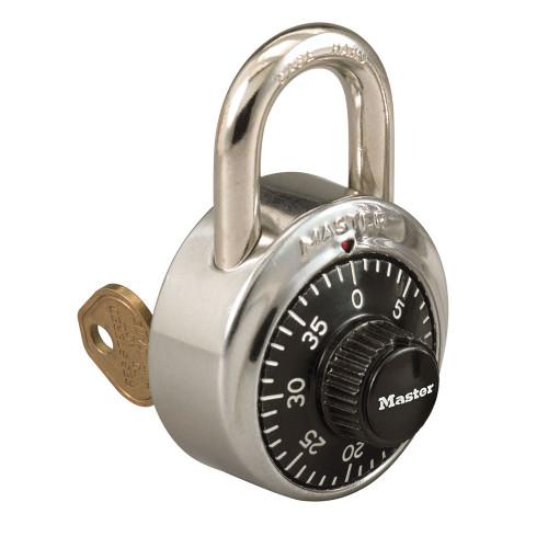 Master Lock 1525 Padlock, Combination Key Bypass V88