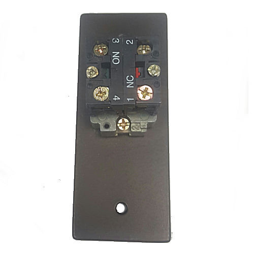 Exit Button,Camden CM-8120-DU, Narrow DPST Momentary Dark Bronze