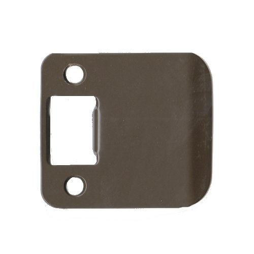 Extended Lip Strike Plate, Don-Jo 9102 DU RC, 2-1/4 x 2