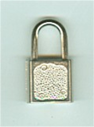 Padlock, Luggage/Promotional Nickel Plated