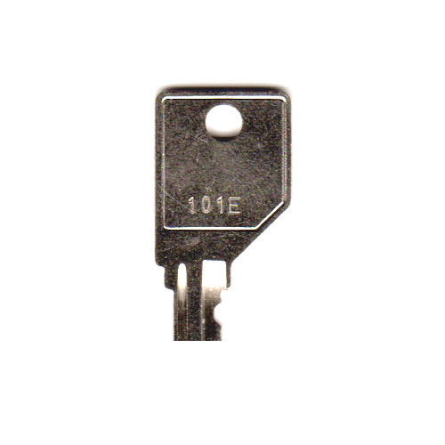 HON 101E Replacement Cut Key