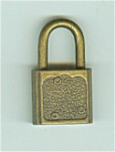 Padlock, Luggage/Promotional  Antique finsh