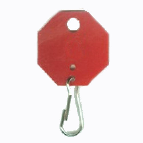 Key Tags, Red Octagonal 507-C Unnumbered