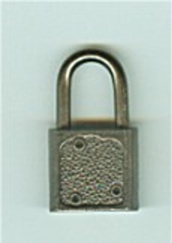 Padlock, Luggage/Promotional  Black Nickel
