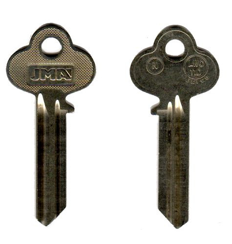 Key blank, JMA LWO-11D Lockwood N-Section 6pin A1015N