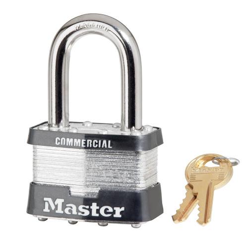 Master Lock 5KALF Laminated Steel Padlock, Keyed Alike A112