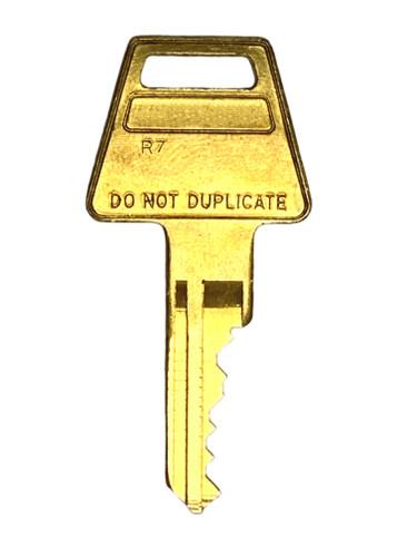 American Lock Restricted R7 5-Pin Keys, Factory Cut