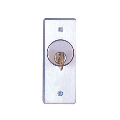 Key Switch, Camden CM-2030-AL, SPDT ON/OFF