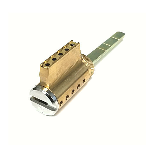 Mul-T-Lock 248BP-KIDSH-26 Deadbolt Cylinder For SCH/ARW Single Cylinder, Brushed Chome