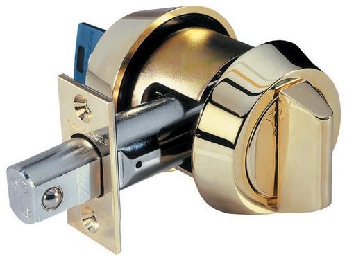 Deadbolt, Mul-T-Lock Hercular S/C 206SP-HD1-09 Antique Brass, US5